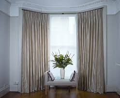 Curtains For Bay Window Simple But Adorable Bay Window Curtains Designs