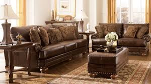 dark brown living room furniture traditional living room with ashley furniture dark brown leather
