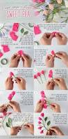 How To Make Easy Paper Flowers For Cards - 4617 best flowers paper images on pinterest paper flowers and