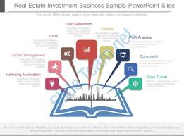 powerpoint presentation selling real estate investment template