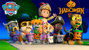 paw patrol nick jr halloween house party haunted adventure paw