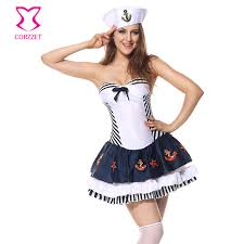 Halloween Costumes Sailor Woman Buy Wholesale Sailor Halloween Costume China Sailor