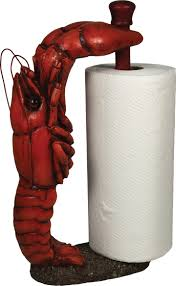 crawfish decorations decorations amazing parrot paper towel holder design for