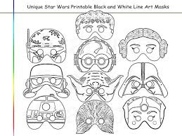 coloring pages stars party printable black white art