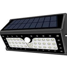 driveway motion sensor light solar lights lat outdoor 62 leds super bright motion sensor