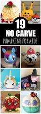 19 clever no carve painted pumpkins for kids pretty my party