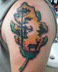 bow hunting tattoos pictures to pin on pinterest tattooskid