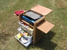 Camp Kitchen Box Plans by Camp Kitchen Tucker Box