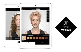 hair color simulator style my hair virtual hair makeover l oréal professionnel