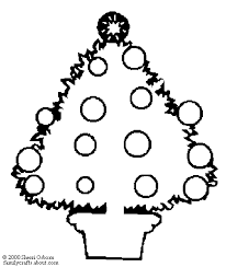 christmas tree coloring pages coloring book 40 free printable