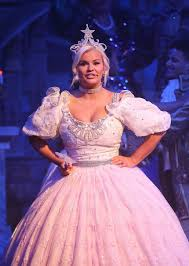 make a wish kerry katona takes to the stage in huge sparkling