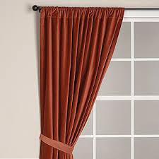 World Curtains Velvet Curtain Panel Rust Curtains Cost Plus World Market