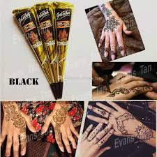 natural india brown color herbal henna cones waterproof temporary