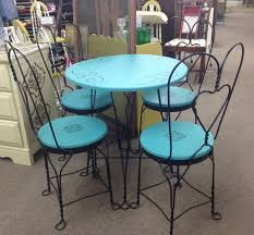 ice cream parlor table and chairs set ice cream parlor table table designs