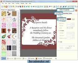 create wedding programs online wedding card maker software make invitation cards to invite