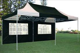 white gazebo 10 x 20 black and white pop up tent canopy gazebo
