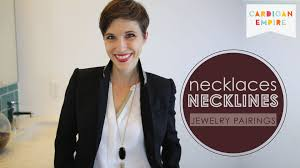 wear collar necklace images How to wear jewelry pairing necklaces necklines jpg
