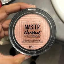 Maybelline Master Chrome maybelline master chrome highlighter 05 gold usage depop
