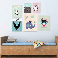 Elephant Wall Decal For Nursery by Wondrous Elephant Nursery Wall Art Uk Nordic Cartoon Panda