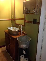 galvanized tub kitchen sink galvanized bathroom best bucket sink ideas on rustic bathroom sink