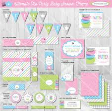Tea Baby Shower Favors by Tea Supplies Printable Baby Shower Ideas