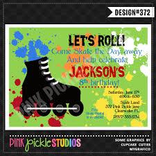 roller skating party invitation wording oxsvitation com