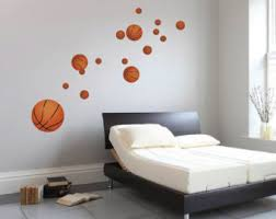 basketball mural etsy
