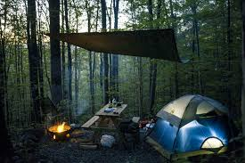 building a tent platform hike in platform camping malouf u0027s mt campground ny 4 hipcamper