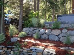 Garden Rock Wall by Gallery Grateful Gardens