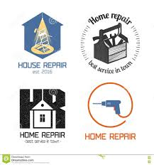 Home Builder Logo Design Home Builder And Maintenance Icon Stock Images Image 12010474