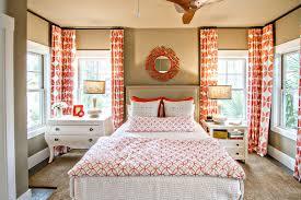 Contemporary Orange Curtains Designs Curtain Design And Description Bedroom Orange Curtain