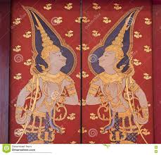 Mural Painting Designs by Traditional Thai Mural Painting The Life Of Buddha And Thai Life