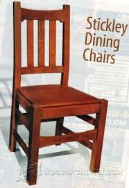 Outdoor Woodworking Projects Plans Tips Techniques by Dining Chair Plans Furniture Plans And Projects Woodarchivist