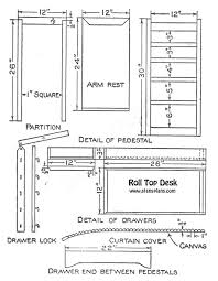 desk free classic roll top desk plans free roll top desk