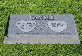 Flat Headstones With Vase Double Headstone U2013 Flat Grass Marker U2013 West Chestnut Monument Inc