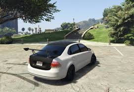 polo volkswagen sedan volkswagen polo sedan tuning gta5 mods com