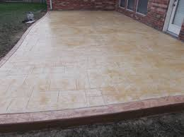 Slate Patio Sealer by Pictures Of Decorative Concrete