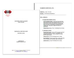 Submittal Cover Sheet Template Mechanical Identification Equipment Labeling Submittal Marking
