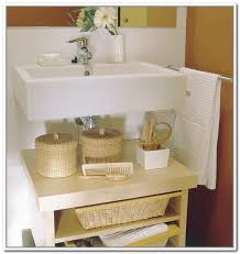 bathroom sink storage ideas bathroom sink storage realie org