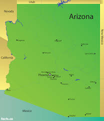 Flagstaff Arizona Map by Arizona Map Blank Political Arizona Map With Cities