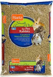 rabbit food hartz small animal diet rabbit food 10 lb bag chewy