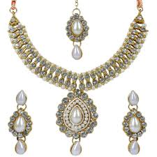 necklace sets images Artificial diamond necklace set by luxor jewellery necklace sets jpg