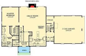cape floor plans cape cod with open floor plan 32435wp architectural designs team r4v