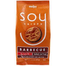 Meijer Soy BBQ Flavored Crisps 3 5 oz