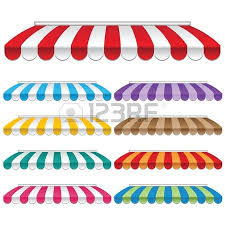 Awning Frames Colorful Awnings Royalty Free Cliparts Vectors And Stock
