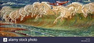 neptune u0027s horses 1892 walter crane 1845 1915 english england