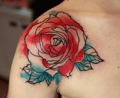 tattoo of a rose chest tattoos tattoo blog shoulder tattoos collar bone tattoos