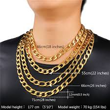 figaro necklace men images Collare figaro necklaces 316l stainless steel 3mm 5mm 9mm 12mm jpg