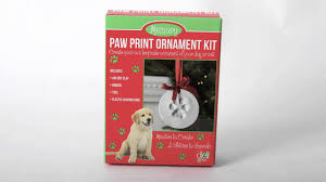 pawprint ornament kit