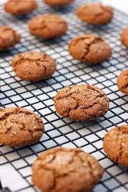 grain free spiced molasses cookies gluten free u0026 dairy free